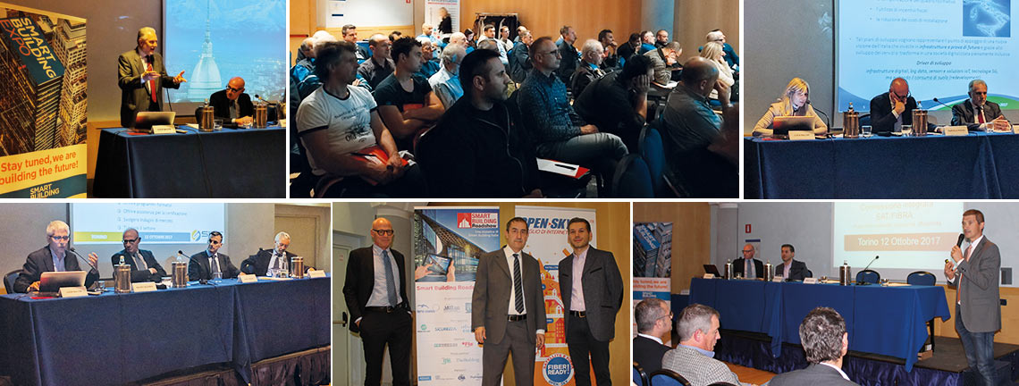Smart Building Roadshow Torino