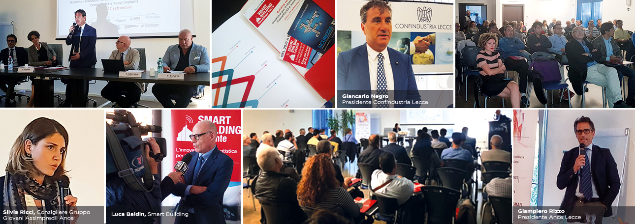 Smart Building Roadshow Lecce