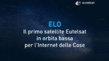 Un satellite Eutelsat per Internet of Things