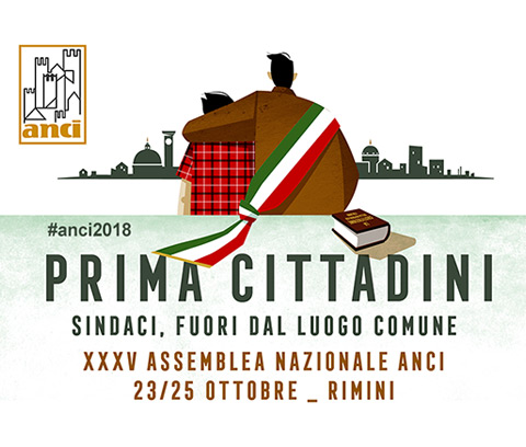 """All'Assemblea Annuale ANCI a Rimini, ANFoV organizza il 24 ottobre il convegno """"La banda ultralarga per i territori: dall'infrastruttura ai servizi""""."""