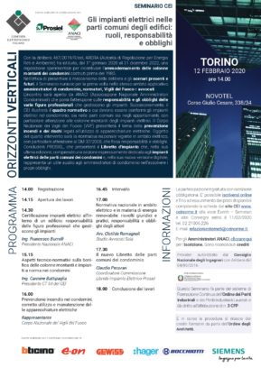 prosiel tour 2020 torino ammodernamento colonnine montanti edifici 1985 edilizia smart building italia